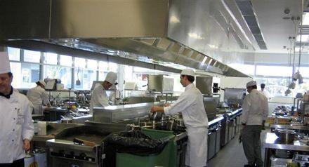 Campanas extractoras industriales -